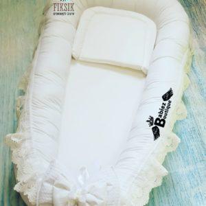 חבילת לידה דגם דיימונד לבן