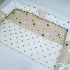 חבילת לידה דגם כוכבים שמפניה