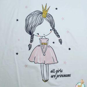 פאנל לשמיכה – נסיכה הקטנה