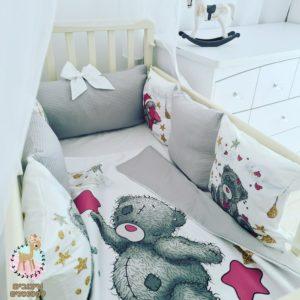 ✪ סט מצעים למיטת תינוק  ✪