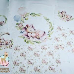 חבילת פאנלים לסט למיטת תינוק – 6 חלקים