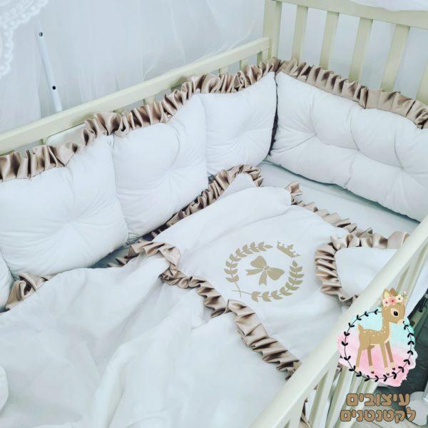 סט מצעים למיטת תינוק , מצעים לתינוקות , מצעים למיטת תינוק